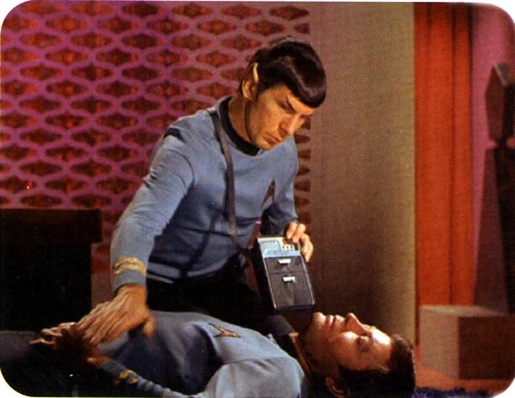 Image result for star trek medical scanner photos